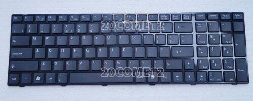 NEW for MSI MS-168A MS-168C MS-16D2 MS-16D3 MS-1751 MS-1753 keyboard UK Frame