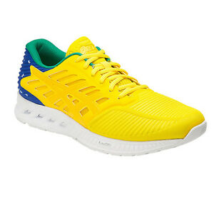 460845b79480 Image is loading ASICS-FUZEX-COUNTRY-PACK-BRAZIL-UNISEX-RUNNING-SHOES-