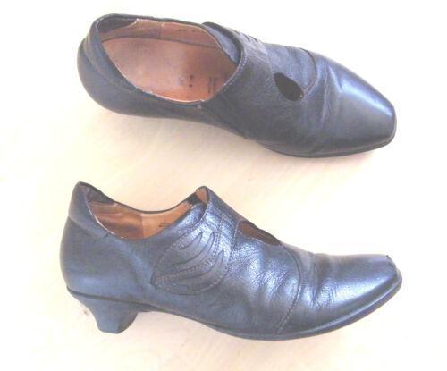 Größe Schuhe Schwarz 37 Think Echtleder Leder fxT4wEqa