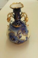 Rare Antique Vienna Amphora Porcelain Vase Ernst Whaliss c1890