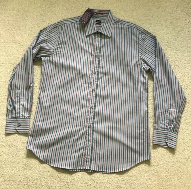 "Paul Smith LONDON LS Shirt Classic fit Size 16.5 / 42 p2p 22.5"""