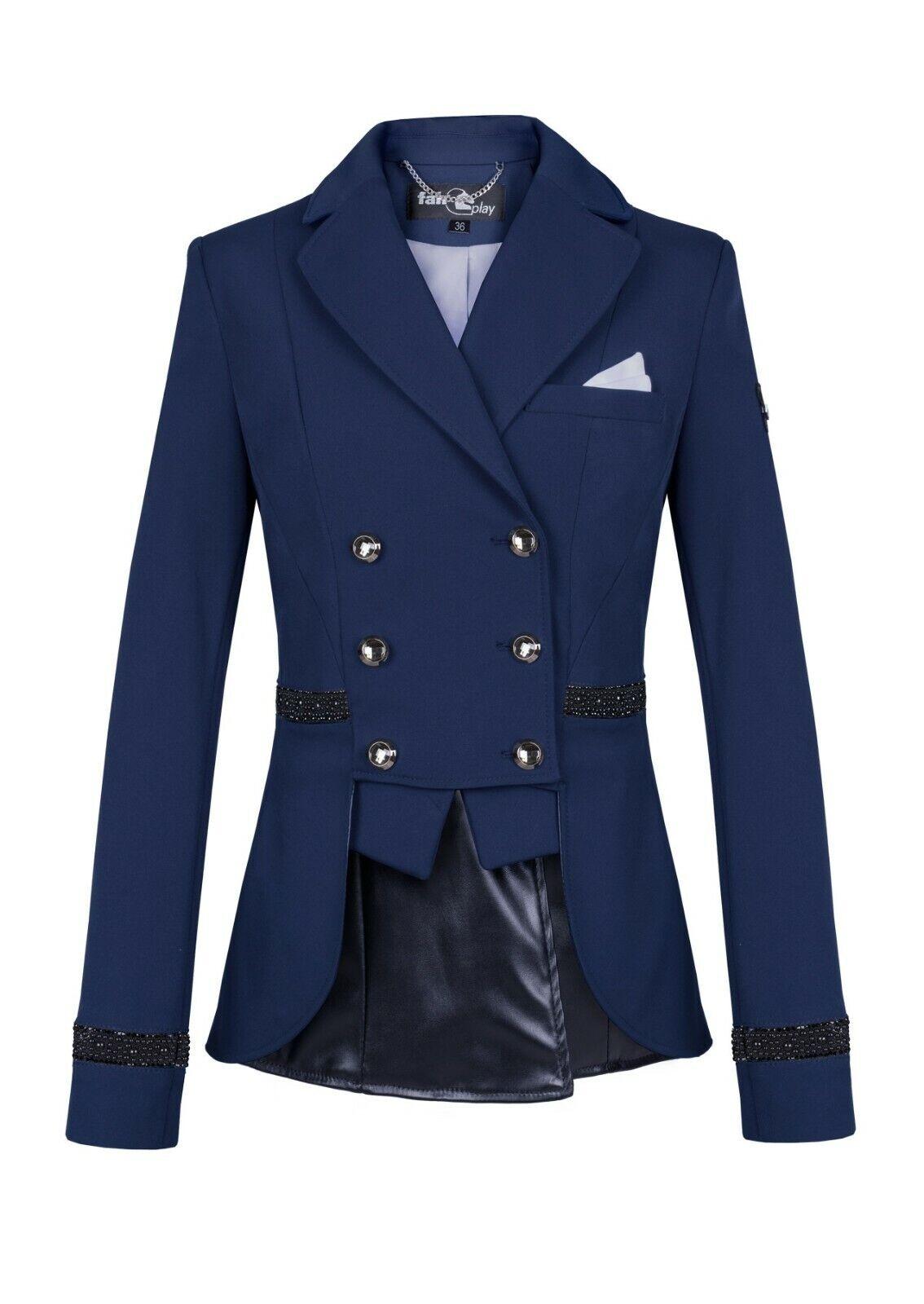 FairPlay Valentina Show Jacket - Navy - UK 12