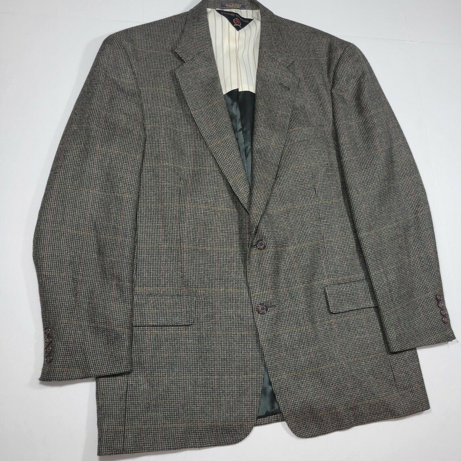 Tommy Hilfiger Sport Coat Blazer - Gray Multi Col… - image 9