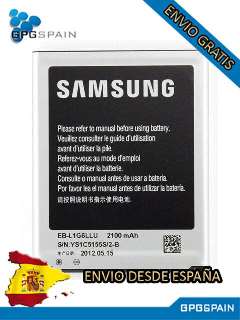 Bateria Samsung ORIGINAL EB-L1G6LLU  GT-I9300 Galaxy s3 i9300- 2100mAH con NFC
