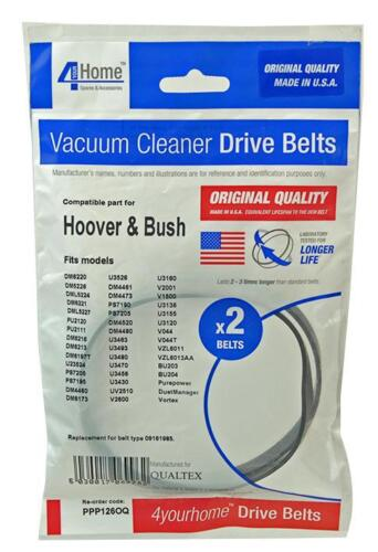 VACUUM BELTS PACK OF 2 HOOVER Manufacturers Spares DG66686