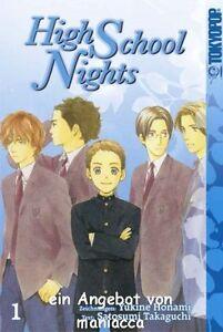 2019 Nouveau Style High School Nights 1 | Yukine Honami | Manga Bd 01 Romance | Comme Neuf-afficher Le Titre D'origine Complet Dans Les SpéCifications