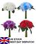 Artificial Rose /& Hydrangea Bouquet Flowers Floral Valentine Ivy Wedding Garland