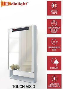 TOUCH-VISIO-1800W-Digital-Programmable-Energy-Saving-Mirror-Slim-Fan-Heater-NEW