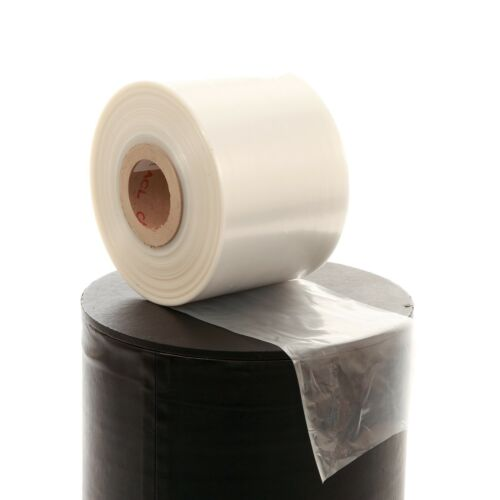 "12/"" x 168m polyéthylène layflat tube 500g clear"