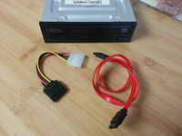 Samsung Sh-224fb Internal Dvd Burner - With Sata Power And Data Cables