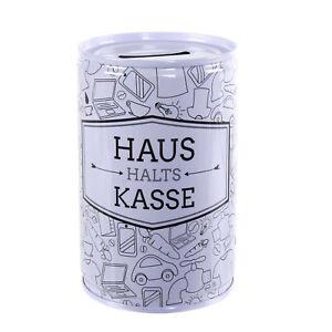 Spardose//-büchse mit Schloss Festival Cash