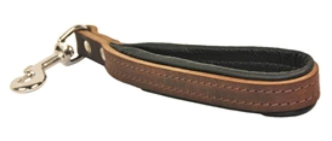 Dean Dean Dean & Tyler La Main High Quality Handmade Padded Leather Handle Short Dog Leash 691a78