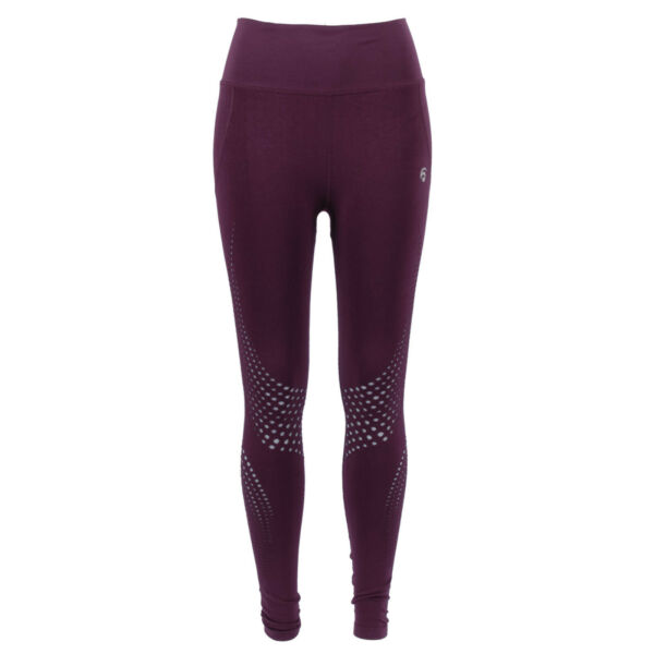 OCEANS APART Damen Tights 41909 California Pant Wine Rot / XS – XL / Leggings