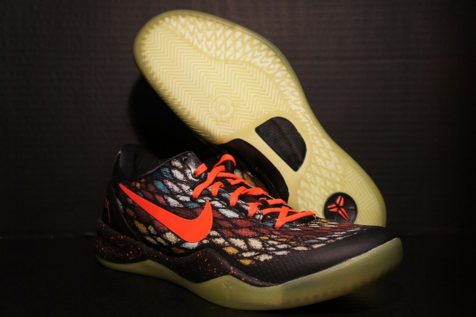 Nike Kobe 8 VIII Christmas Xmas 2012 555035 030 Size 9.5 and 10 PLEASE READ