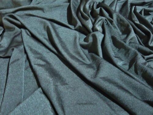 Estiramiento Slinky Jersey-verde caqui-tela del vestido-Libre P/&P