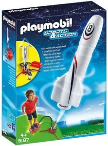 Playmobil 6187 - Rocket With Propeller Nouveau