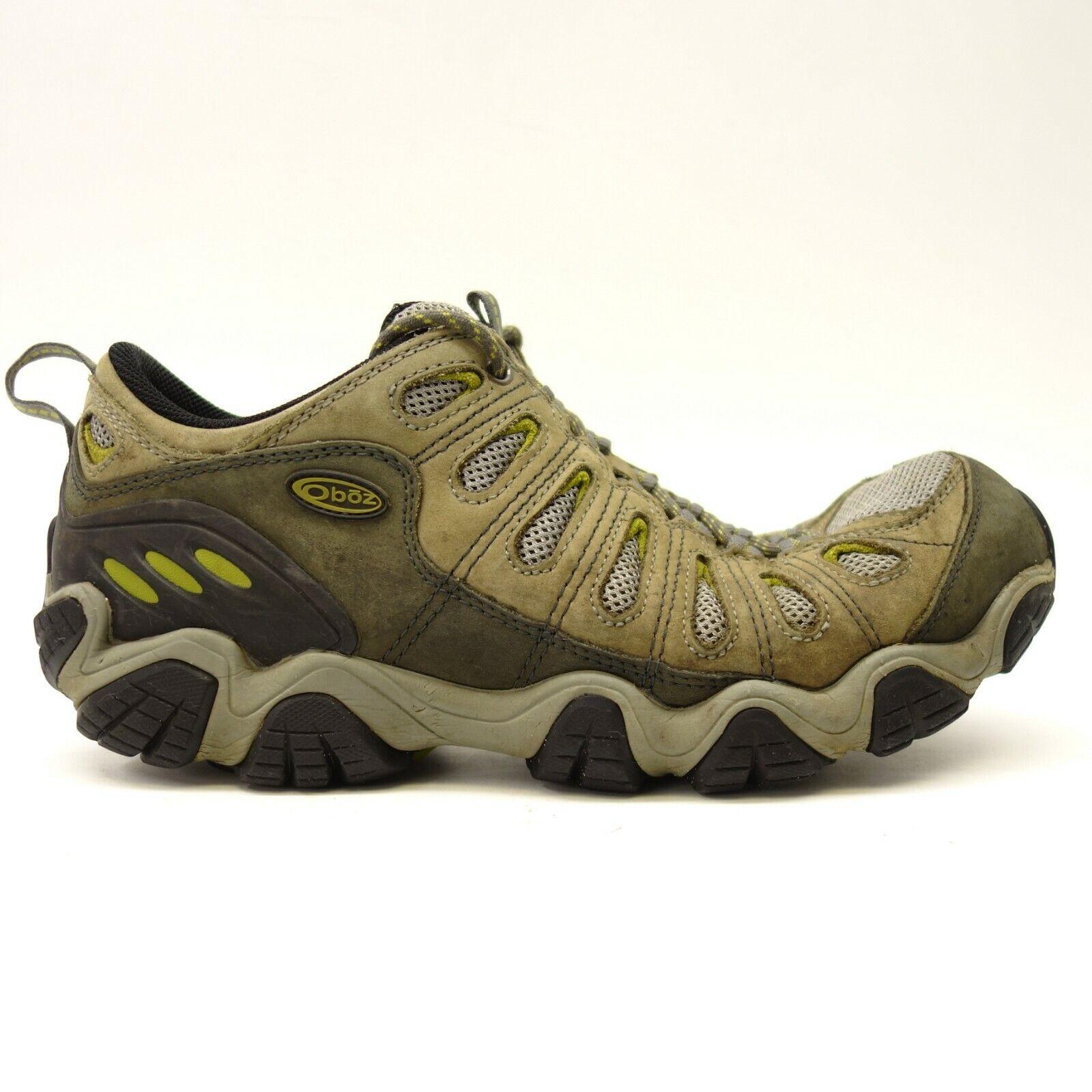 Oboz US 11 Ancho Sawtooth bajo Atlético Soporte para senderismo y Atléticas Zapatos para hombre