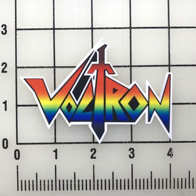 Voltron Logo 4 Quot Wide Vinyl Decal Sticker Bogo For Sale Online