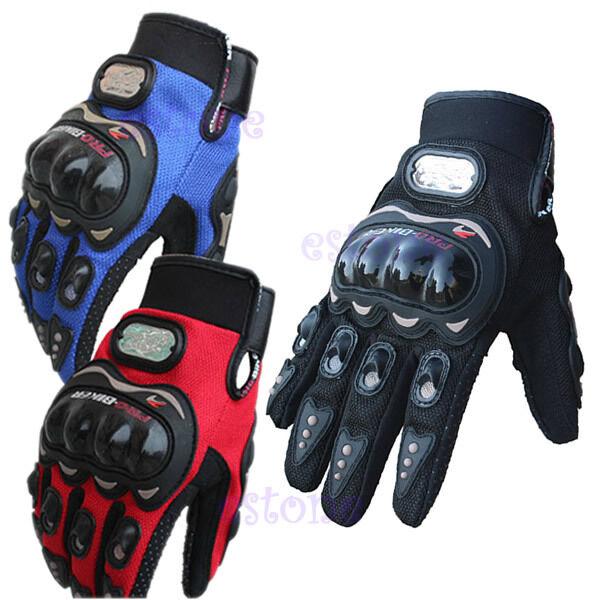 Motocross Racing Pro-biker Motorcycle Motorbike Cycling Full Finger Gloves XL