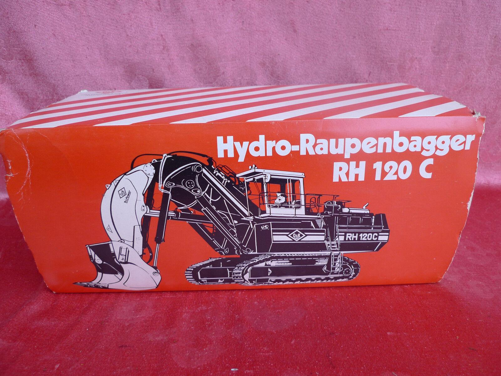 Bella modelffahrzeug __ Hydro-privandole Escavatore __ RH 120 C __ 2771 __ 1 50