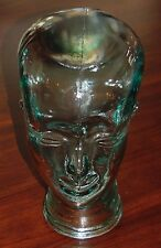 NEW  Life Size Coke Bottle Color Very Heavy Glass Mannequin Head Hand Made SPAIN