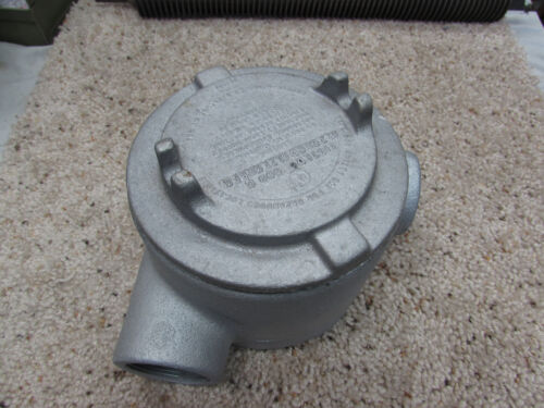 """Crouse Hinds GUAN 59 Explosion Proof Conduit Hub New 1 1//2/"""""""