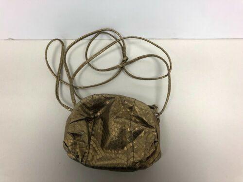 LEWIS Gold Shoulder purse