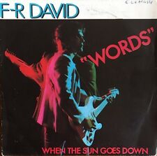 "F-R David - Words - Vinyl 7"" 45T (Single)"