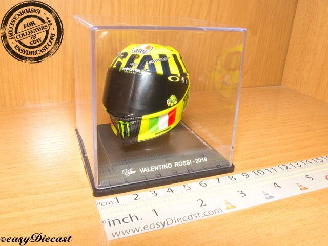VALENTINO ROSSI MOTO-GP AGV HELMET CASCO CASQUE 1 5 2016 AUTODROMO MUGELLO RARE