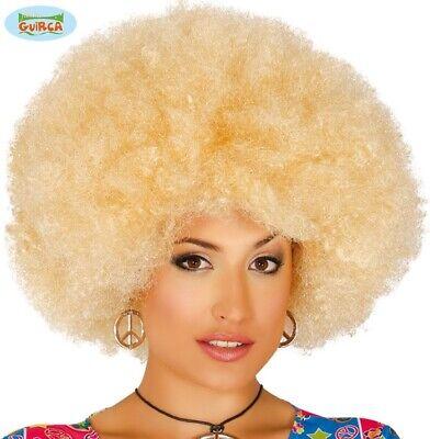 1960s 1970s Afro Jumbo Costume Parrucca Bionda 1980s Parrucca Afro Discoteca Fg-mostra Il Titolo Originale Vendita Calda 50-70% Di Sconto