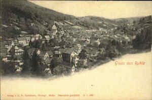 Gruss-aus-RUHLA-Thueringen-1900-Gesamtansicht-Verlag-Fr-Schoenborn-ungelaufen