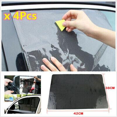 CAR REAR WINDOW SIDE SUN SHADE COVER BLOCK STATIC CLING VISOR SHIELD SCREEN