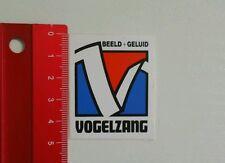 Aufkleber/Sticker: Vogelzang Beeld + Geluid (030616100)
