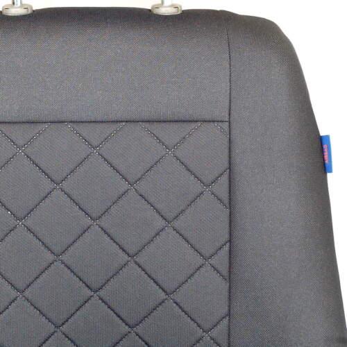 Graue Sitzbezüge für VW VOLKSWAGEN LT Autositzbezug grau SET 1+2