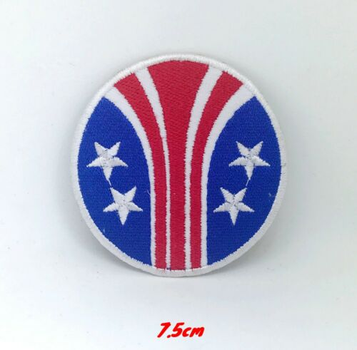 ALIEN 3 Stars /& Bars Delta Colonial Marine iron on Embroidered Patch applique