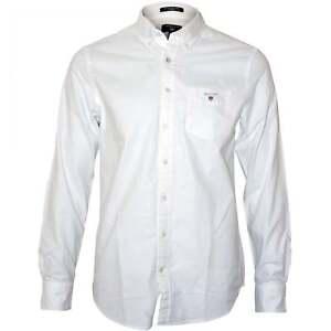 8cdea00277 Image is loading Gant-Men-039-s-Regular-Fit-Oxford-Shirt-