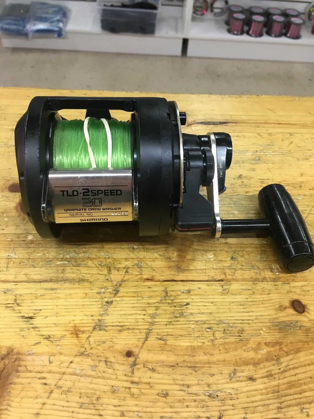 SHIMANO TLD 20 20 20 2 Speed Saltwater Conventional Reel 8dac44