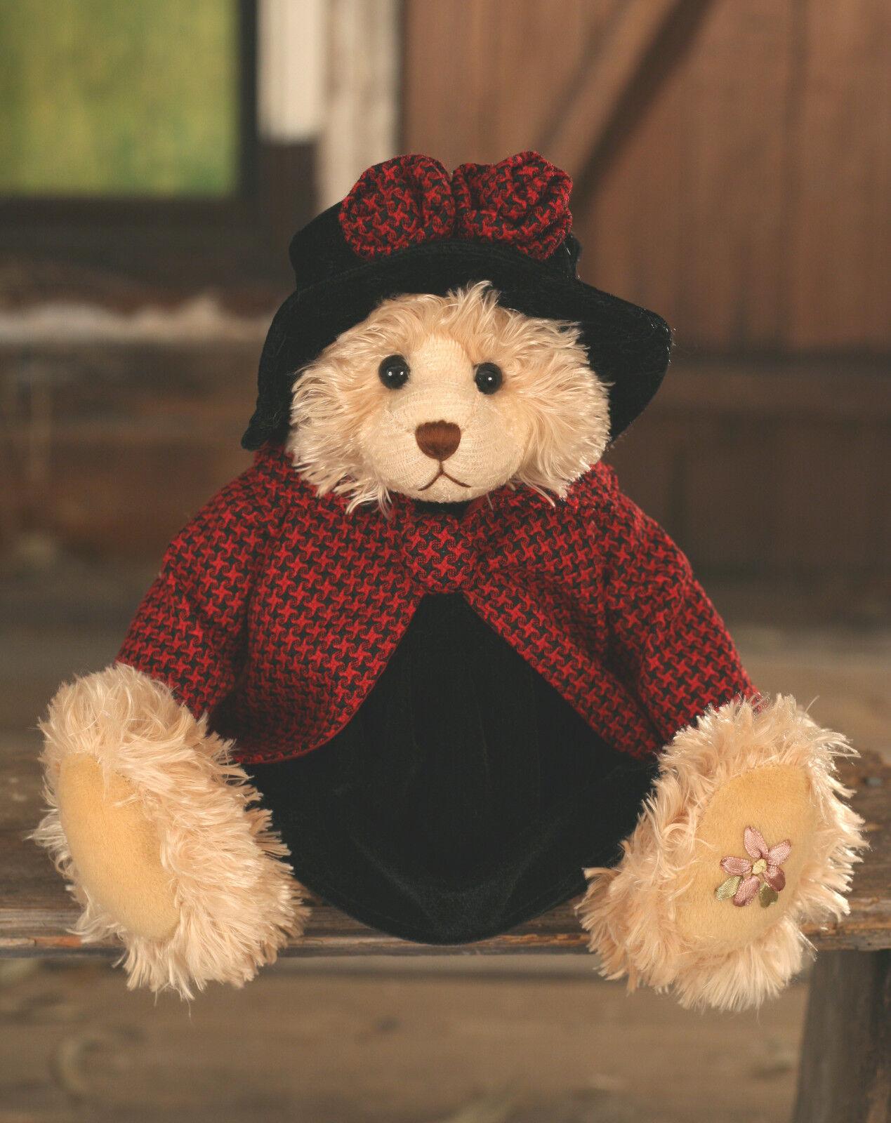 Teddy Bear 'Lexi' Settler Bears Handmade Dress Gift Collectable 38cms NEW