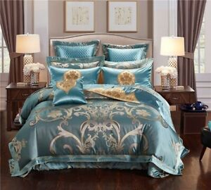 Luxury-Royal-Jacquard-Bedding-Sets-Egyptian-Cotton-Embroidered-Bed-Sheet-Set
