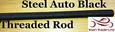 M10X1.5 Fully Threaded 300MM Long ROD/Bar/Studding/STUD Metric thread Auto Black