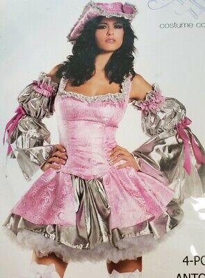 Marie Antoinette Costume Adult Halloween Fancy Dress