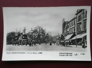 POSTCARD RP WARWICKSHIRE BIRMINGHAM  FIVE WAYS C1900 - <span itemprop=availableAtOrFrom>Tadley, United Kingdom</span> - Full Refund less postage if not 100% satified Most purchases from business sellers are protected by the Consumer Contract Regulations 2013 which give you the right to cancel the purchase w - Tadley, United Kingdom