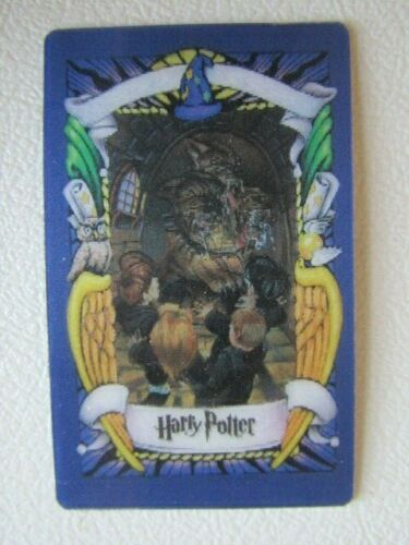 Chocolate Frog Cards ~ 2000  2001 Harry Potter Lenticular  Card Variants e14