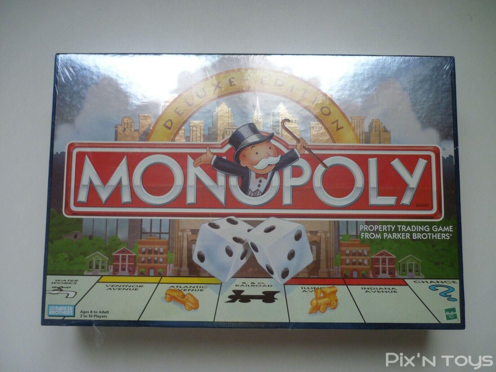 Jeu de société Monopoly Deluxe Edition 1998   Version Anglaise [ NEUF ]