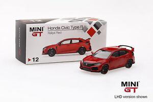 Mini-GT-1-64-2017-Honda-Civic-Type-R-FK8-Rallye-Red-Diecast-Car-TSM-MGT00012