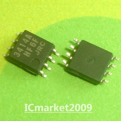 10 PCS NJM3414AM SMD-8 NJM3414 JRC3414 3414A HIGH CURRENT OPERATIONAL AMPLIFIER