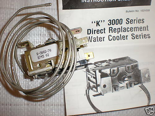 RANCO WATER COOLER CONTROL K-3002 K-3002-70 K3000 SERIES
