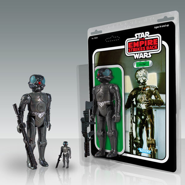 Gentle Giant Limit Limit Limit Kenner Star Wars 4 LOM Bounty Hunter Droid Action Figure 12  dc2a2b
