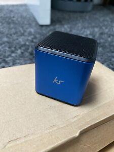 Small Bluetooth KS Cube Haut-parleur parfait pour avoir dans un sac ou voyage