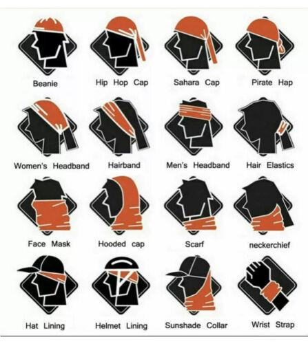 Unisex Mexican Flag Face Mask Bandana Balaclava Headwear Neck Scarf